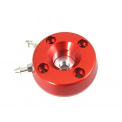 CNC Liquid Cooled Head (Coral Red) TURBO